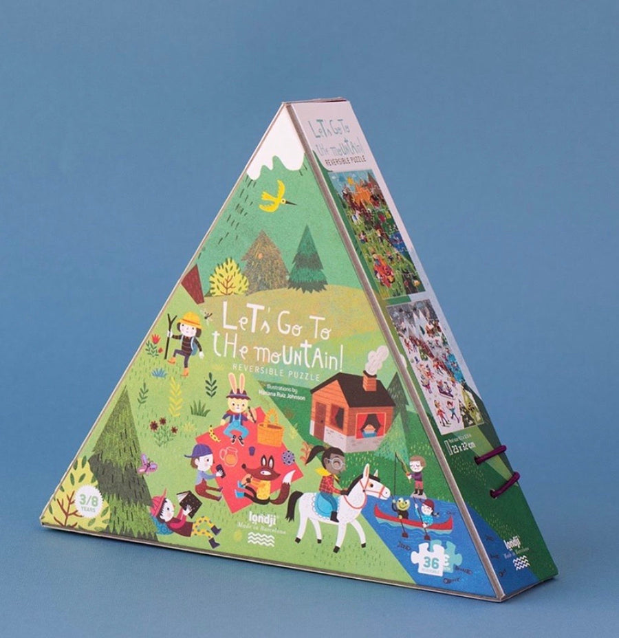 LONDJI - Puzzle Let's go to the mountain - JX