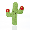 Cactus Buddy - Red Flower Rattle