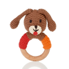 Wooden Ring Rattle – Dog Boy