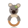 Wooden Ring Rattle – Koala