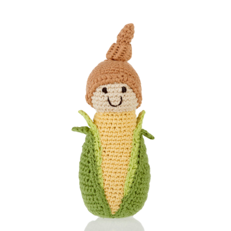 Baby Sweetcorn Rattle