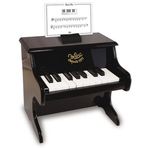 Black Piano with Scores