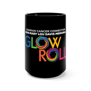"""Glow Roll"" Black Mug 15oz"