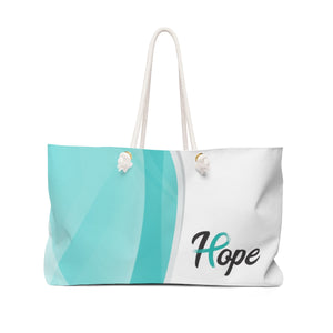 """Hope""  Survivor Weekender Bag"