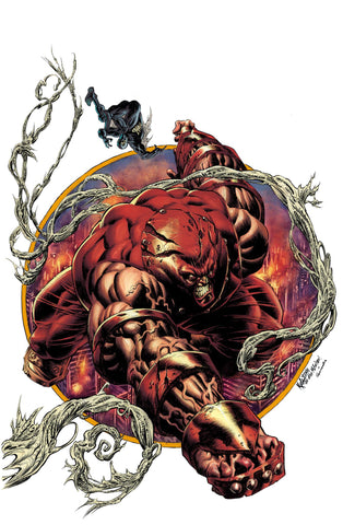 Juggernaut #1 Kyle Hotz Secret Variant Cover