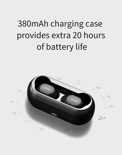 Mini Dual V5.0 Wireless Earphones Bluetooth With Charging box - 9about