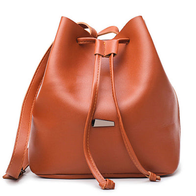 Women's Messenger Bucket Female Shoulder Bag