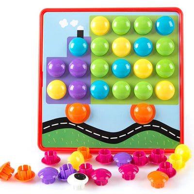 3D Puzzles Educational Toys For Preschoolers DIY