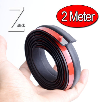 Z Type Car Door Seal Noise Insulation Weatherstrip Sealing