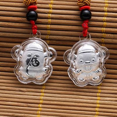 2020 Mouse Rat Year Necklace Lucky Zodiac - 9about