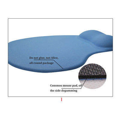 Silicone Soft Ergonomic Gaming MousePad With Wrist Support