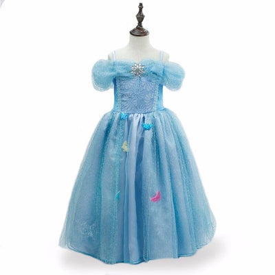Christmas Anna Elsa Cosplay Costume Summer Dresses - 9about