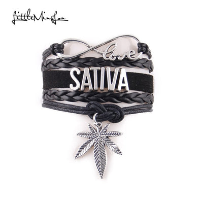 Little MingLou 4 colors Infinity love Sativa Bracelet