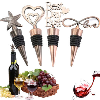 Crystal Wine Stopper Champagne Bottle - 9about
