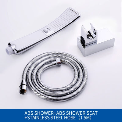 Waterfall Shower Head Water Saving High Pressure - 9about
