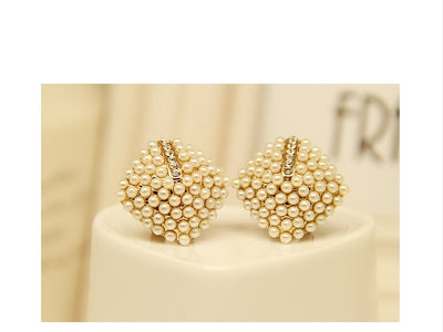 Pearl Stud Earrings for Women Vintage Earrings - 9about