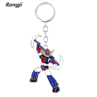 Anime Sailor Moon Mazinger Head Multicolor Mask Keychain