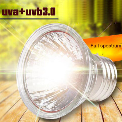 Reptile Lamp 2pcs/pack 25/50/75W UVA+UVB 3.0 - 9about