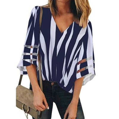 Summer Pregnant Women's Clothes Maternity Chiffon Blouses