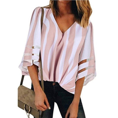 Summer Pregnant Women's Clothes Maternity Chiffon Blouses - 9about