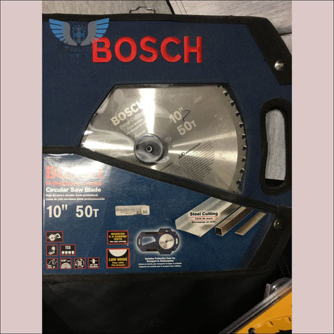 Bosch 10in 50T Steel Cutting Blade - toolaza
