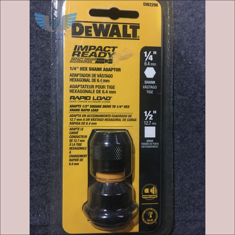 DeWalt 1/2 Inch Hex Shank Adapter - toolaza
