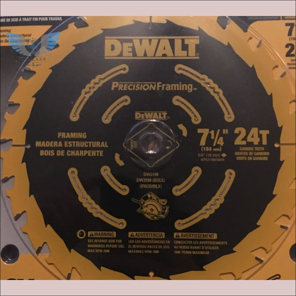 DeWalt 7-1/4 Precision Framing 24T Blade - toolaza