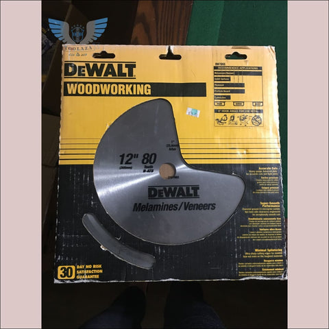 DeWalt DW7663 Ultra Fine WoodWorking Blade 12in 80T - toolaza