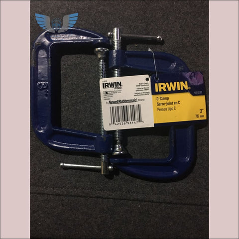 Irwin 3 inch C-Clamp - toolaza