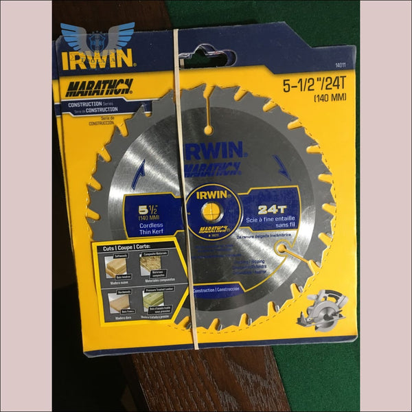 Irwin 5-1/2 in 24 Tooth Marathon Blade - toolaza