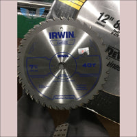 Irwin 7-1/4 40 Tooth Carbide Blade - toolaza