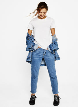 Cotton Off-the-Shoulder Tee 1