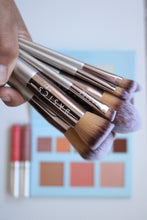 Load image into Gallery viewer, Luxury 10 Piece Vegan Brush Set