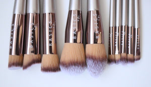Luxury 10 Piece Vegan Brush Set