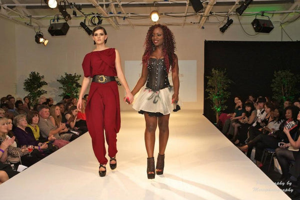 Finale walk, for Paulinah with her line Dolls of Decadence