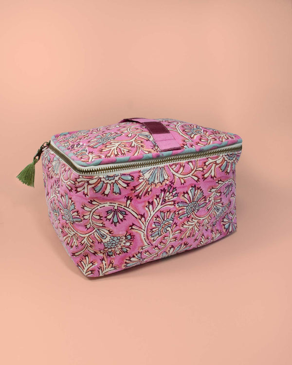 Ayana Cosmetic Case - Rose
