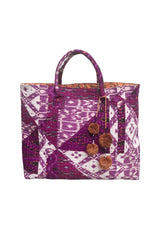Berry Ikat Seven Day Tote