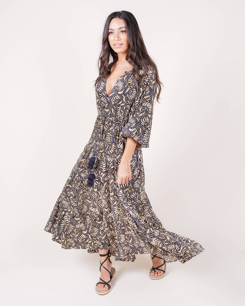 Mohini Riviera Maxi Dress