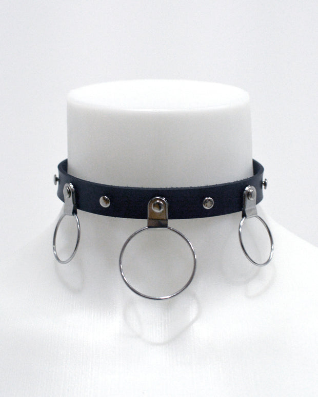 triple o ring choker by sudosci