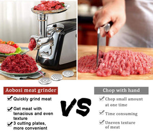3-IN-1 Meat Mincer & Sausage Stuffer