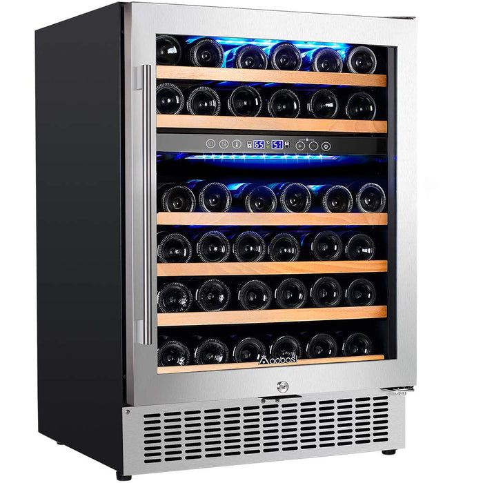 24'' Dual Zone Wine Cooler