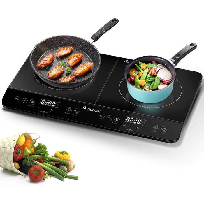 2800w Double Induction Hob Portable