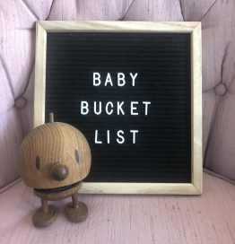 "An Updated Baby Bucket List During ""The New Normal"""