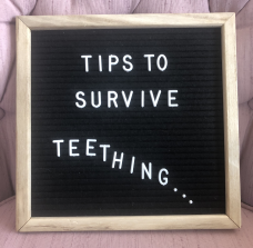 Survive Baby Teething: Top Five Tips