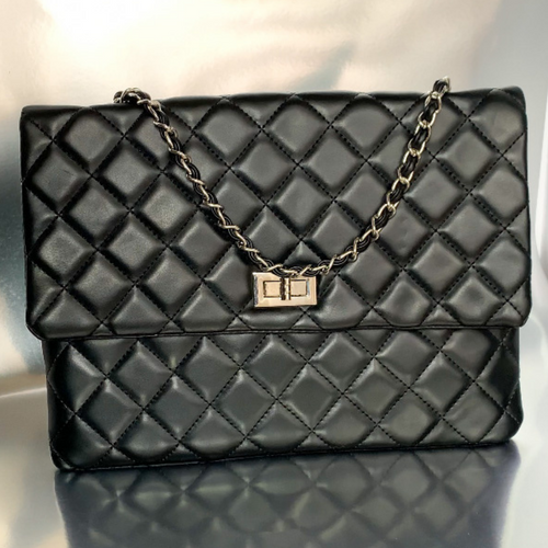 Luxe Flap Bag (black)