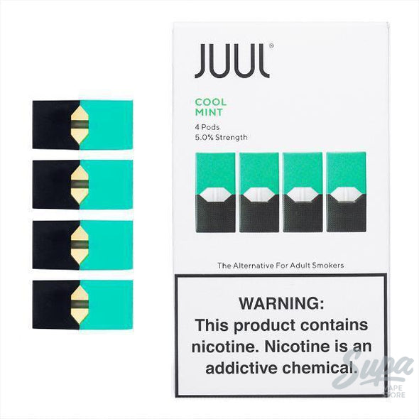 Juul Cool Mint Pods - 5% (4 Pack)-Pod System-Juul-Supa Vape Store - Toronto Ontario Canada