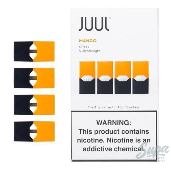 Juul Mango Pods - 5% (4 Pack)-Pod System-Juul-Supa Vape Store - Toronto Ontario Canada