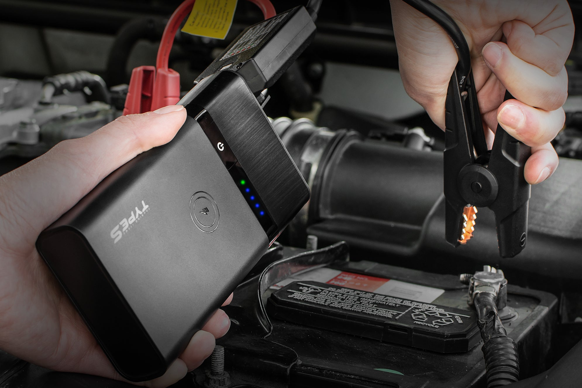 Every Dad Needs the Type S Jump Starter for Father's Day 2019