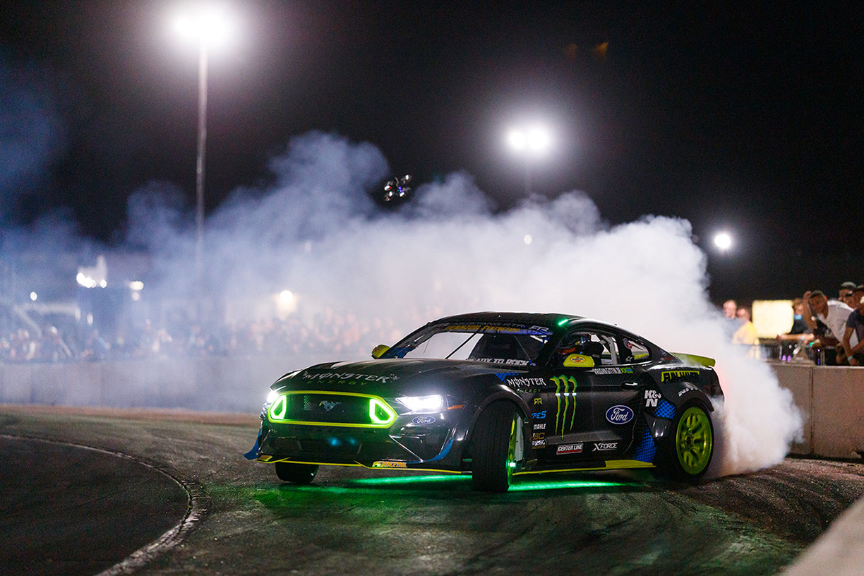 Formula Drift Implements TYPE S Under-Car LED Lighting for All Pro Championship Night Events