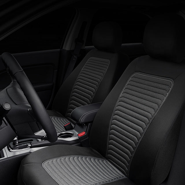 Seat Covers//Protectors 1+1 | Water Resistant Front Heavy Duty Grey S- tech automotive Discovery 04-ON